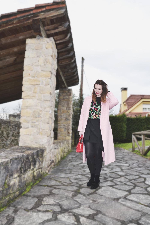 Jersey bordado de Zara